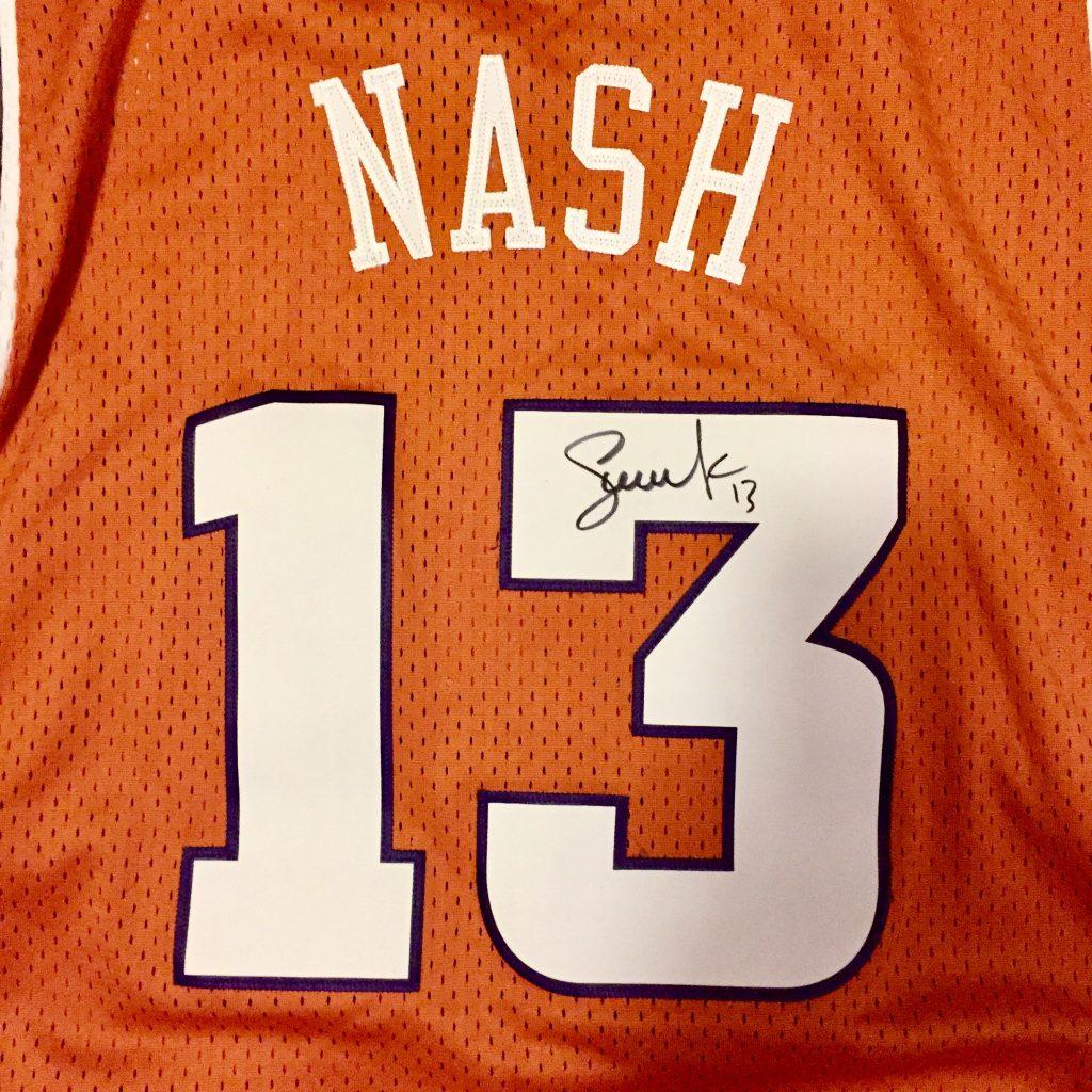 90a7d753e The Steve Nash Foundation | Autographed Steve Nash Phoenix Suns #13 ...