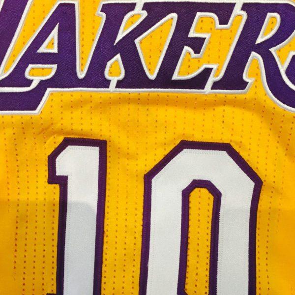 sports shoes 55648 95dc2 Autographed Steve Nash Los Angeles Lakers #10 Authentic Jersey