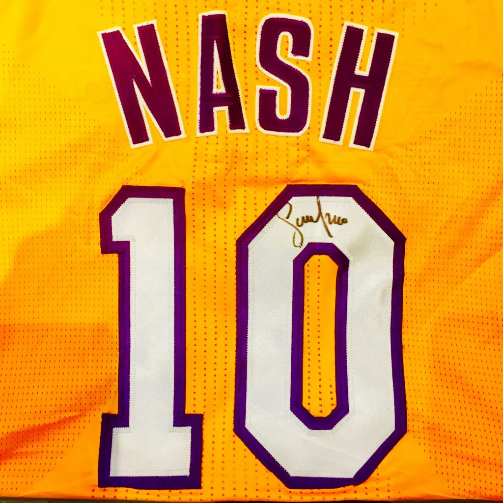 sports shoes 03eac eff83 Autographed Steve Nash Los Angeles Lakers #10 Authentic Jersey