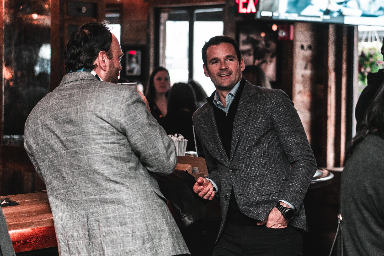 DSC00145 - Cyril and Matt at the Bar