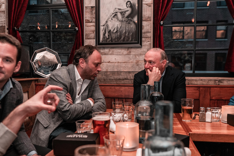 DSC00386 - Cyril Goddeeris Chats with Andy Kohlberg