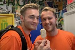 IMG_4535 - Steve and Morten Share a Pop