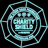 Shield EST logo with web