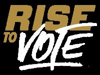 Rise to Vote logo